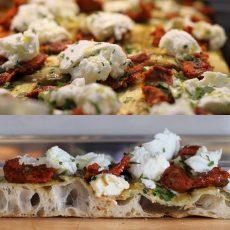 pizza con nduja