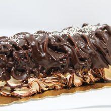tronchetto biscotto e cioccolato