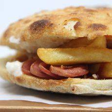 panino wurstel patatine e maionese